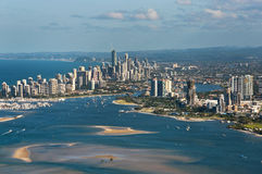 Gold Coast South East Queensland Skyline Stock Images