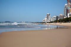 Gold Coast strand Arkivfoton