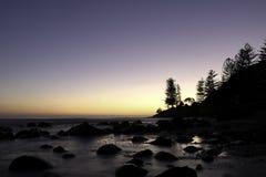 Gold Coast strand Arkivbild