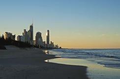 Gold Coast sunset Stock Images