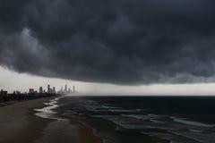 Gold Coast tempestuoso Imágenes de archivo libres de regalías