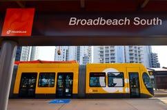Gold- Coastlicht-Schiene G - Queensland Australien Lizenzfreie Stockbilder