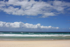 Gold- Coaststrand in Australien stockbilder