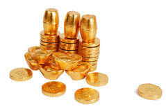 Gold coin Stock Photos