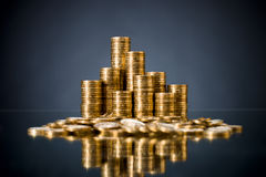 Gold  coin Royalty Free Stock Photography