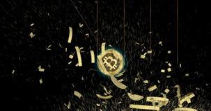 Bitcoin Cash BCH cryptocurrency coin demolish main world currencies.
