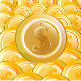 Gold Coin08 Stock Photography