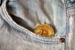 Bitcoin logo gold coin last bitcoin symbol royalty free stock images