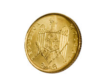 Gold coin modern Stock Photography