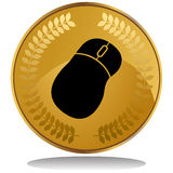 Gold Coin - Mouse Royalty Free Stock Photography