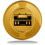 Gold Coin - Stadium Stock Photography