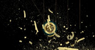 Tether USDT cryptocurrency coin demolish main world currencies.