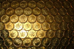 Gold Coins Stock Photo Image Of Obsolete Golden Hong