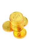 Gold coins Royalty Free Stock Images