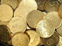 Gold Coins background Royalty Free Stock Images