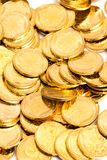 Gold coins. Heap of gold coins,coins Stock Photography
