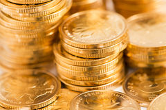 Gold coins. Heap of gold coins,coins Royalty Free Stock Photography