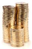 Gold coins Royalty Free Stock Photos