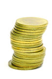 The Gold Coins. Royalty Free Stock Photo