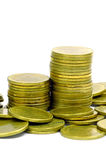 The Gold Coins. Stock Photo