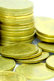 The Gold Coins. Royalty Free Stock Photos