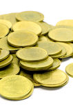 The Gold Coins. Royalty Free Stock Images