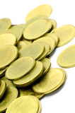 The Gold Coins. Stock Photography