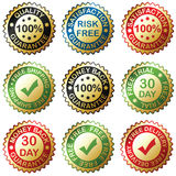 Gold Collection Royalty Free Stock Photos