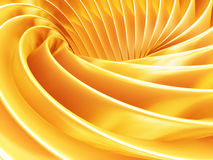 Gold color abstract stripe background. 3d illustration Royalty Free Stock Photos