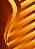 Gold color background Stock Image