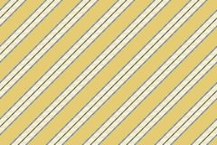 Gold color background elegant striped seamless pattern. Vector illustration Stock Photography