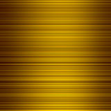 Gold color graduated stripes background. Royalty Free Stock Photo