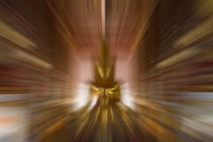 Gold color motion blur illustration for abstract background Royalty Free Stock Photos