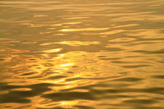 Gold color Ripple Royalty Free Stock Photos