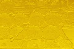 Gold color texture pattern abstract background can be use as wall paper screen saver brochure cover page or for Christmas card Stock Image