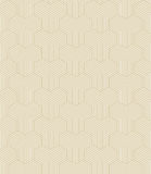 Gold colored geometrical outlines Stock Photo