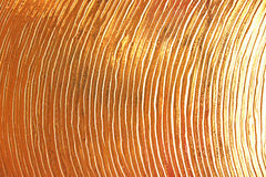 Gold colored lines Royalty Free Stock Photo