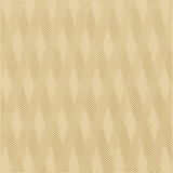 Gold colored striped vector wave background. Stock Photography