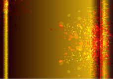 Gold Colorful Vector Background Abstract Stock Image