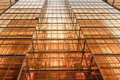 Free Gold Colour Office Building Tower Facade  In Business Center Royalty Free Stock Images - 97063059
