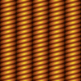 Gold column seamless background. Abstract vertical carved gold column seamless background Stock Image