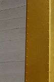 Gold and Concrete Wall Stock Photos