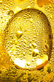 Gold condensation Royalty Free Stock Photo