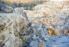 Gold and copper mining Royalty Free Stock Image