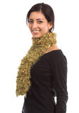 Gold Couture Scarf Royalty Free Stock Photos
