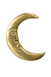 Gold Crescent Royalty Free Stock Photo