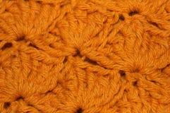 Gold Crochet Fabric Texture Stock Photos