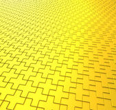 Gold Cross Background Royalty Free Stock Image