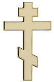 Gold cross. Stock Images