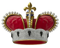 Gold crown Royalty Free Stock Photos
